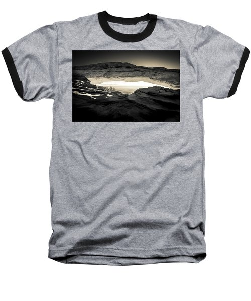 Baseball T-Shirt featuring the photograph Ancient View by Kristal Kraft