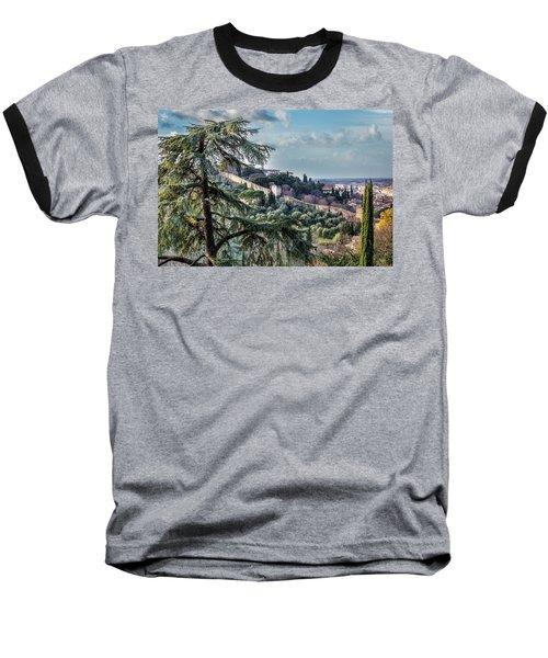 Ancient Walls Of Florence Baseball T-Shirt