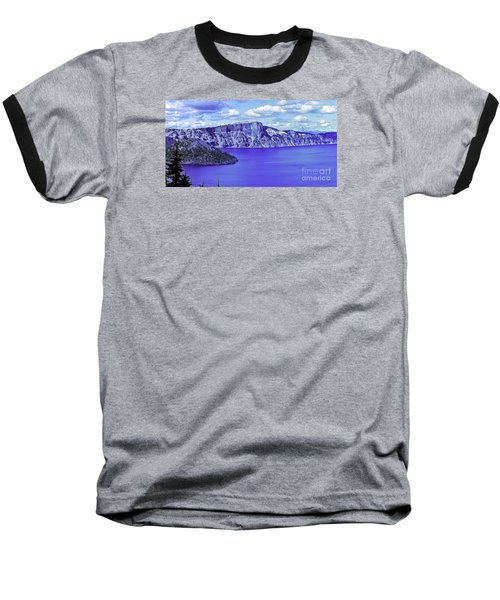 Baseball T-Shirt featuring the photograph Ancient Waters by Nancy Marie Ricketts