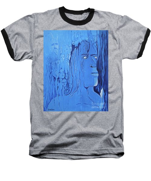 Baseball T-Shirt featuring the painting And If You Feel by Stuart Engel