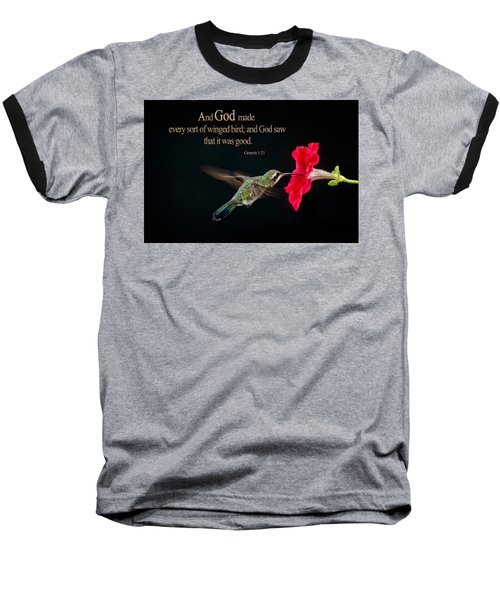 And It Was Good Baseball T-Shirt