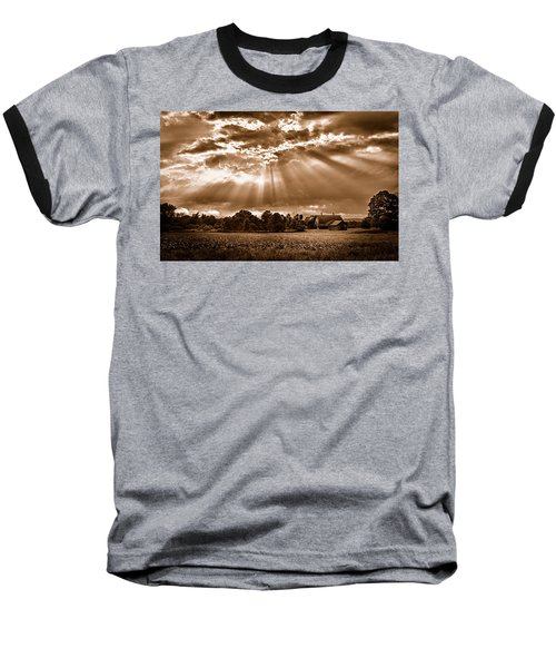 And The Heavens Opened 3 Baseball T-Shirt