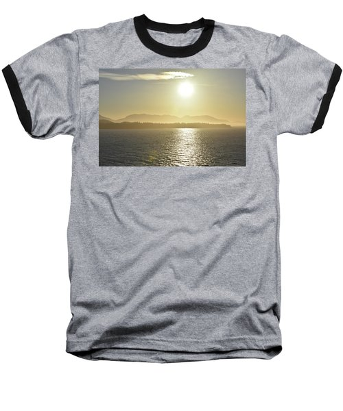 And The Sun Goes Down Baseball T-Shirt