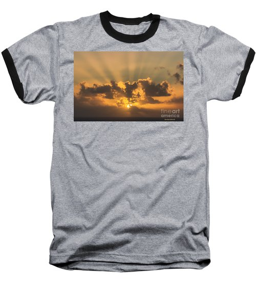 And Then There Was Day Five Baseball T-Shirt by Roberta Byram