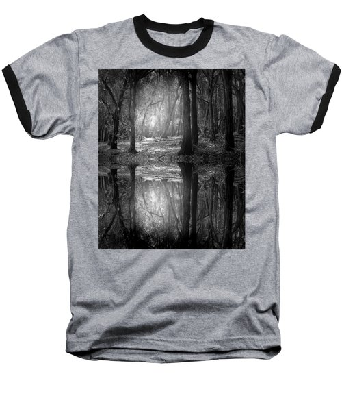And There Is Light In This Dark Forest Baseball T-Shirt