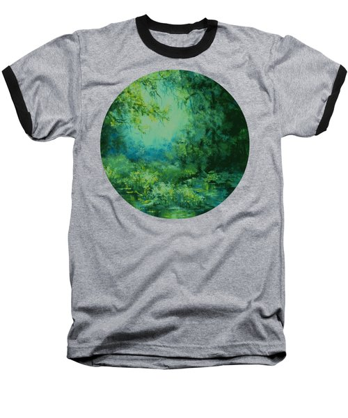 And Time Stood Still Baseball T-Shirt