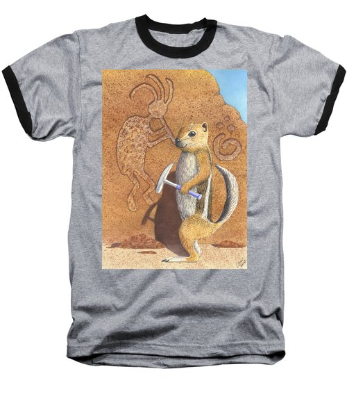 And You Thought It Was The Anasazi Baseball T-Shirt
