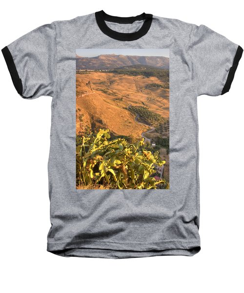 Baseball T-Shirt featuring the photograph Andalucian Golden Valley by Ian Middleton