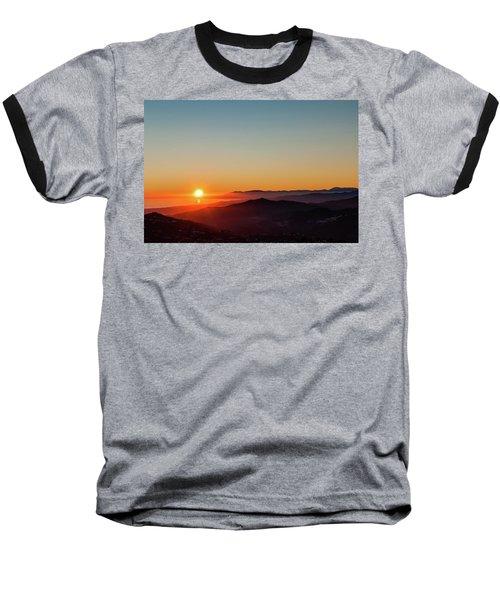 Andalucian Sunset Baseball T-Shirt