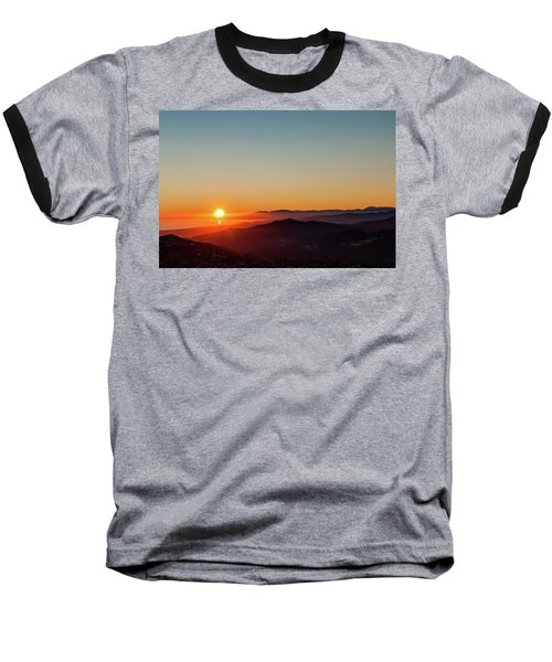 Andalucian Sunset Baseball T-Shirt