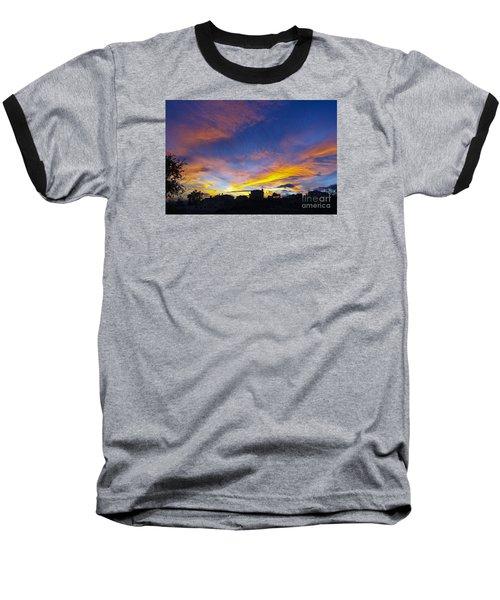 Andalusian Sunset Baseball T-Shirt