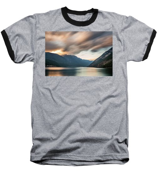 Baseball T-Shirt featuring the photograph Anderson Lake Dreamscape by Pierre Leclerc Photography