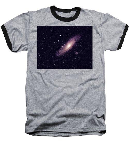 Andromeda Galaxy Baseball T-Shirt