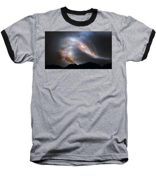 Andromeda-galaxy Baseball T-Shirt