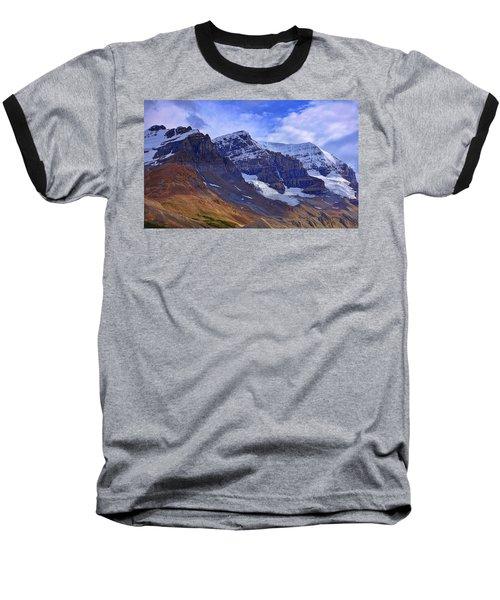 Mount Andromeda Baseball T-Shirt by Heather Vopni