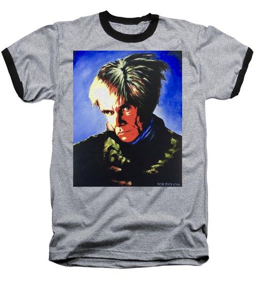 Andy Warhol Baseball T-Shirt by Victor Minca