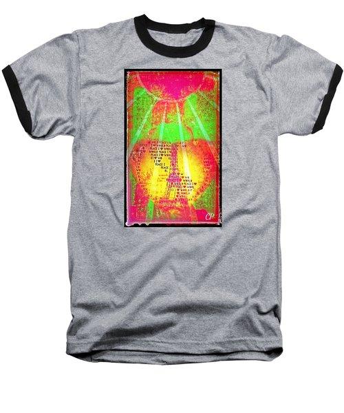 Ange De Paix Mondiale Baseball T-Shirt
