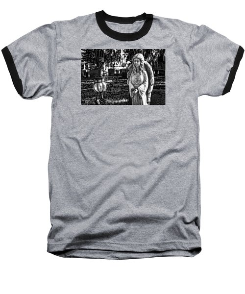 Angel 002 Baseball T-Shirt by Michael White