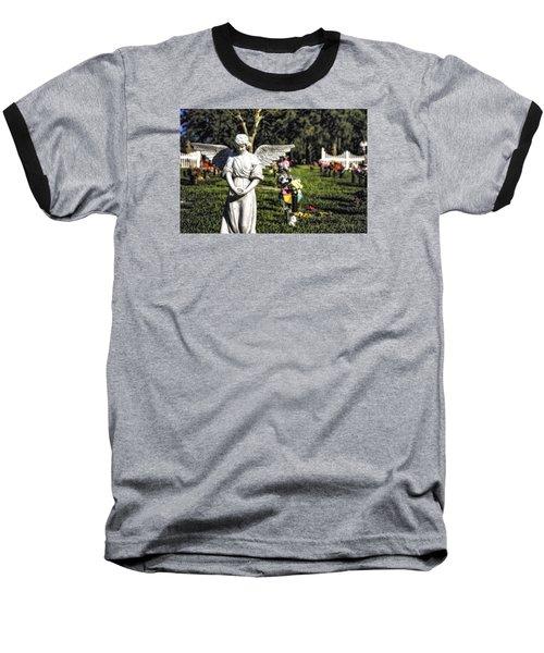 Angel 004 Baseball T-Shirt by Michael White