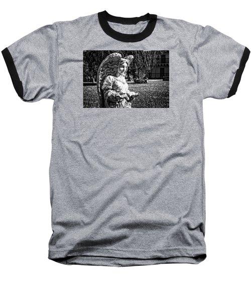 Angel 006 Baseball T-Shirt by Michael White