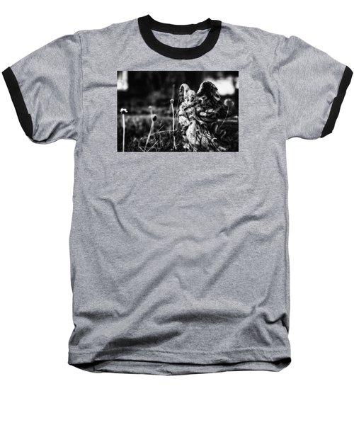 Angel 007 Baseball T-Shirt by Michael White