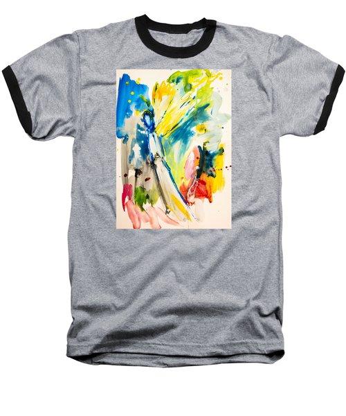 Angel Baseball T-Shirt by Amara Dacer