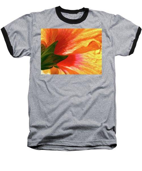 Angel Brushstrokes  Baseball T-Shirt by Marie Hicks