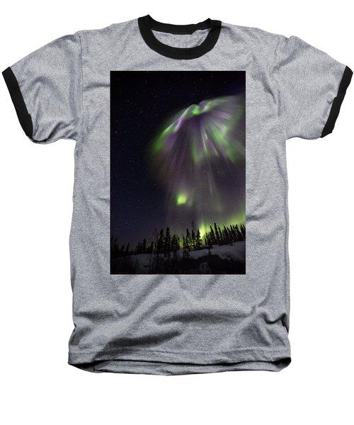 Angel In The Night Baseball T-Shirt