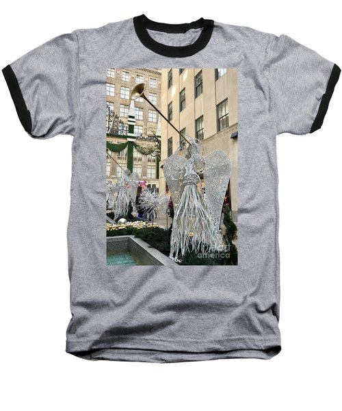 Angel New York City Baseball T-Shirt