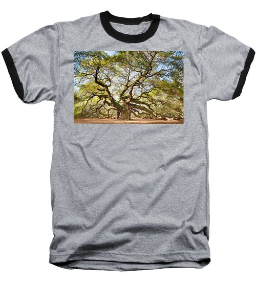 Baseball T-Shirt featuring the photograph Angel Oak In Spring by Patricia Schaefer
