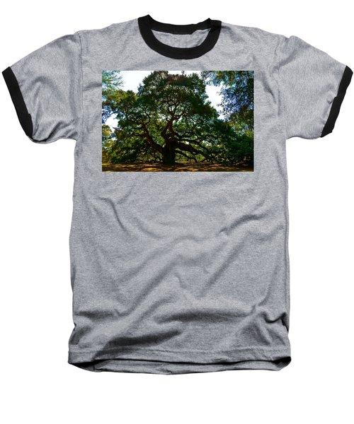 Angel Oak Tree 2004 Baseball T-Shirt