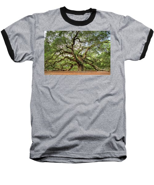 Angel Oak Tree Of Life Baseball T-Shirt