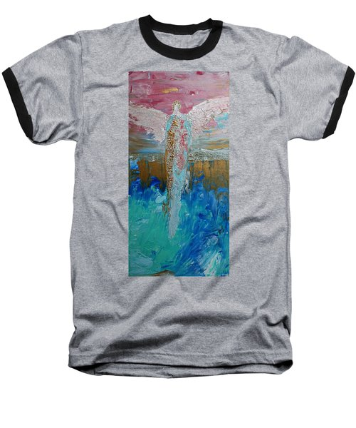 Angel Of Divine Love Baseball T-Shirt