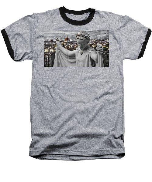 Angel Of Florence Baseball T-Shirt