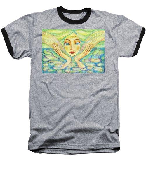 Angel Of Serenity Baseball T-Shirt