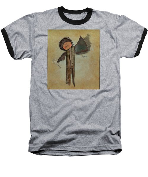 Angel Of The Ages Baseball T-Shirt