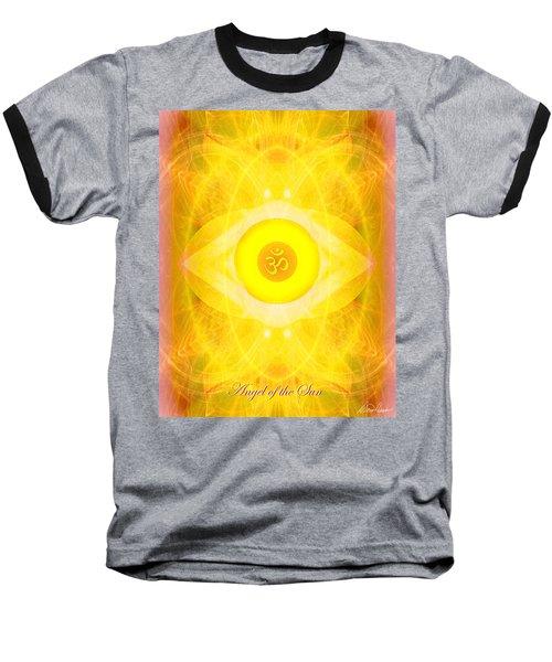 Angel Of The Sun Baseball T-Shirt by Diana Haronis