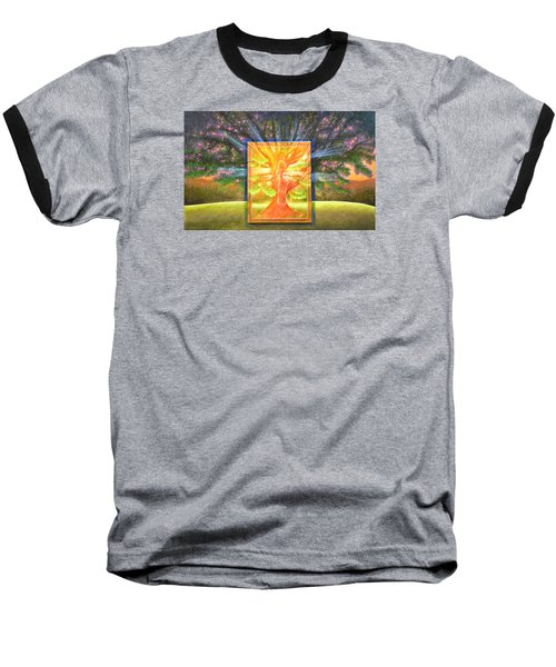 Angel Of The Trees Baseball T-Shirt