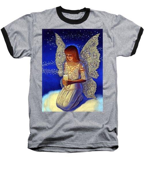 Angel Prayer Baseball T-Shirt
