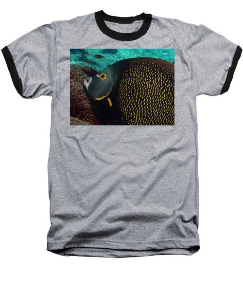 Baseball T-Shirt featuring the photograph Angel Profile by Jean Noren
