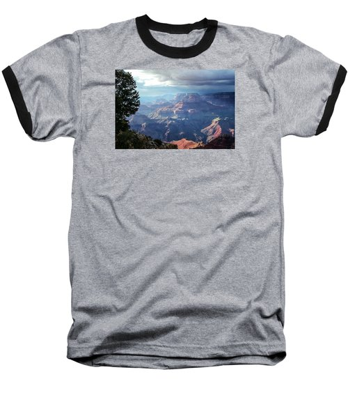Angel S Gate And Wotan S Throne Grand Canyon National Park Baseball T-Shirt