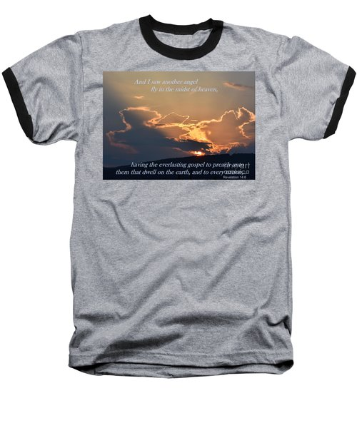 Angel Sky Baseball T-Shirt