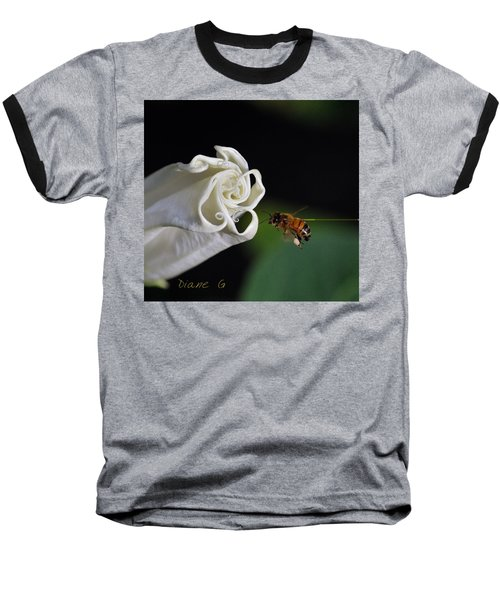 Angel Trumpet Baseball T-Shirt