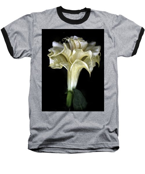 Angel Trumpet Baseball T-Shirt