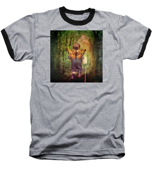 Angel Wings Baseball T-Shirt