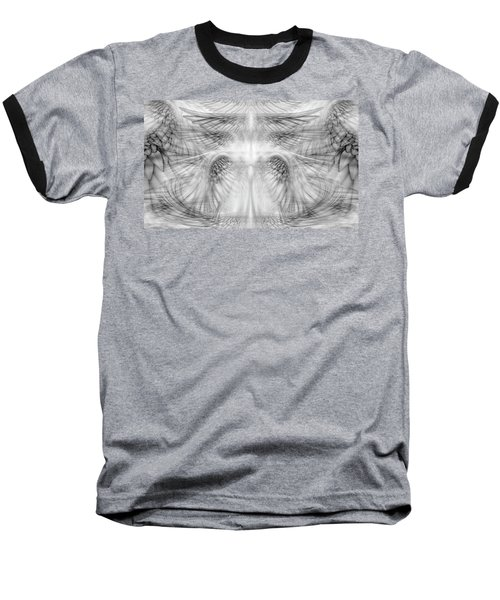 Angel Wings Pattern Baseball T-Shirt