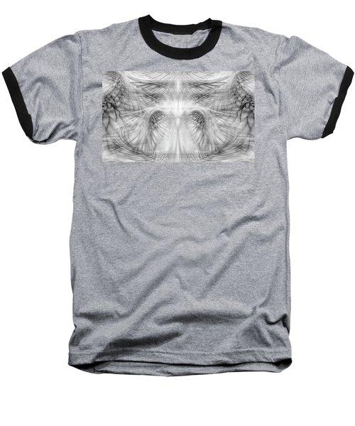 Angel Wings Pattern Baseball T-Shirt