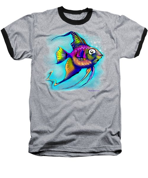 Angelfish Baseball T-Shirt