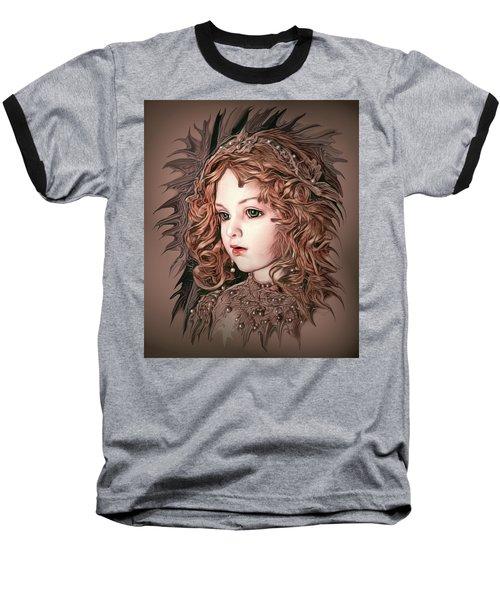 Angelic Doll Baseball T-Shirt