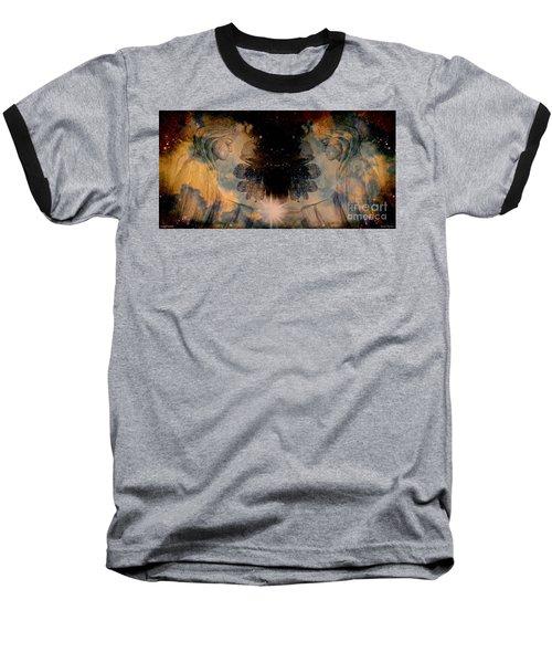 Angels Administering Spiritual Gifts Baseball T-Shirt